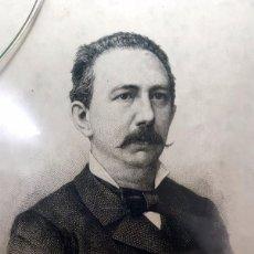 Arte: GRABADO DE GERMÁN GAMAZO POR BARTOLOMÉ MAURA MONTANER 1883. Lote 62053788
