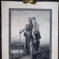 Arte: BÉLISAIRE. AUGUSTE GASPARD BOUCHER-DESNOYERS, D'APRÈS FRANÇOIS PASCAL SIMON GÉRARD.. Lote 62328020