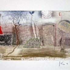 Arte: KABIR SHAID GRABADO FIRMADO Y NUMERADO A LÁPIZ. Lote 62626136