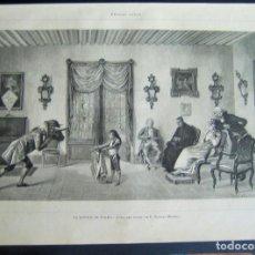 Arte: LA LECCIÓN DEL TOREO, GRABADO, BELLAS ARTES. Lote 62967292