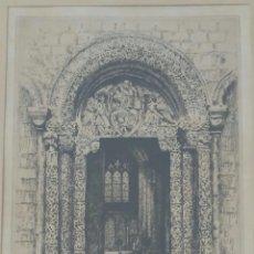 Arte: ALBANY E HOWARTH - THE PRIORS DOOR ELY - GRABADO ENMARCADO . Lote 63633143