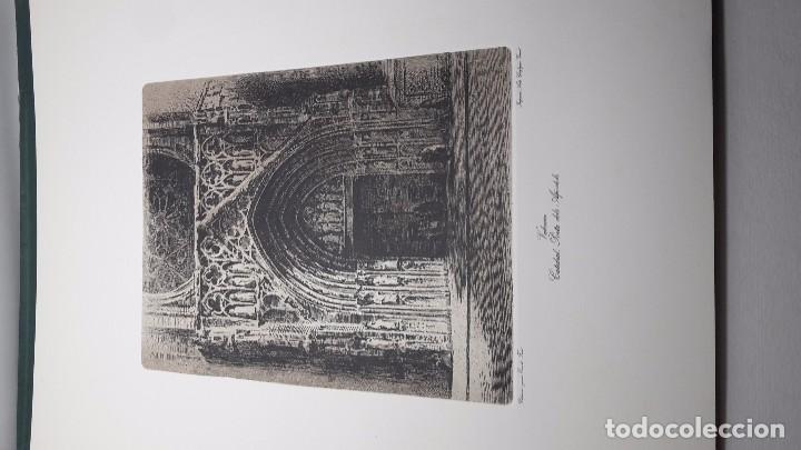 Arte: CARPETA VERDE COMPLETA 12 LAMINAS - GRABADOS DE ERNEST FURIO 66X50 CM. - Foto 3 - 63801435