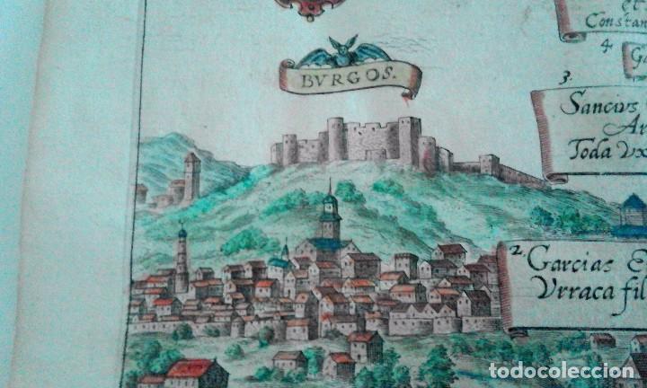 Arte: Grabado antiguo Aragón árbol genealógico Reyes aragoneses año 1650 con certificado autenticidad . - Foto 9 - 63807043