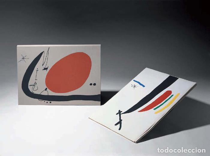 MIRÓ, JOAN - TAKIGUCHI, SHUZO - MA DE PROVERBIS - POLÍGRAFA 1970 - PAPER DE FIL - EDICIÓ NUMERADA (Arte - Grabados - Contemporáneos siglo XX)