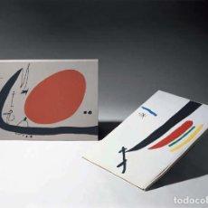 Arte: MIRÓ, JOAN - TAKIGUCHI, SHUZO - MA DE PROVERBIS - POLÍGRAFA 1970 - PAPER DE FIL - EDICIÓ NUMERADA. Lote 63887113