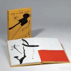 Arte: MIRÓ, JOAN - BROSSA, JOAN - ODA A JOAN MIRÓ - POLÍGRAFA 1973 - EDICIÓ NUMERADA. Lote 63887229