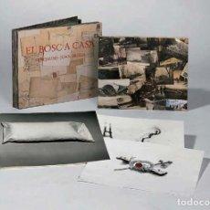Arte: PEREJAUME - JOAN BROSSA - EL BOSC A CASA - PAPEL DE FIL AMB CAPSA DE TELA - FIRMAT PELS AUTORS. Lote 63887233