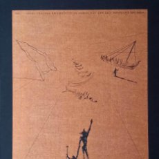 Arte: SALVADOR DALÍ- HEMINGWAY: SUITE EL VIEJO Y EL MAR / CARPETA COMPLETA CON 6 GRABADOS + LIBRO Nº, 1974. Lote 64043711