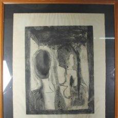 Arte: K3-001. DOLORES CORDOBA. GRABADO SOBRE PAPEL. PRUEBA DE ARTISTA. 1967.. Lote 44157297