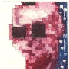 Arte: FRAGMENTOS. GRABADO (AGUATINTA) SOBRE PAPEL. 37,5 X 48,5 CM. OBRA ORIGINAL FIRMADA.. Lote 64477531