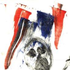 Arte: SCREAM. GRABADO (MONOTIPO) SOBRE PAPEL. 23 X 17,5 CM. OBRA ORIGINAL FIRMADA.. Lote 64478091