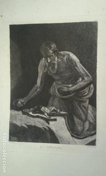 Arte: Grabado aguafuerte. Eugenio de Lemus y Olmo, Tristán. El grabador al aguafuerte. Año 1876. - Foto 2 - 64710183