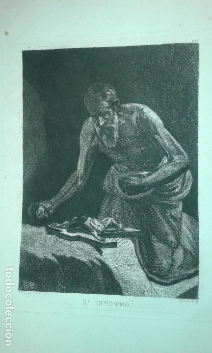 Arte: Grabado aguafuerte. Eugenio de Lemus y Olmo, Tristán. El grabador al aguafuerte. Año 1876. - Foto 3 - 64710183
