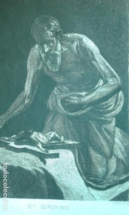 Arte: Grabado aguafuerte. Eugenio de Lemus y Olmo, Tristán. El grabador al aguafuerte. Año 1876. - Foto 4 - 64710183