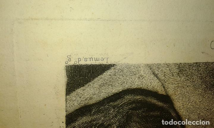 Arte: Grabado aguafuerte. Eugenio de Lemus y Olmo, Tristán. El grabador al aguafuerte. Año 1876. - Foto 6 - 64710183