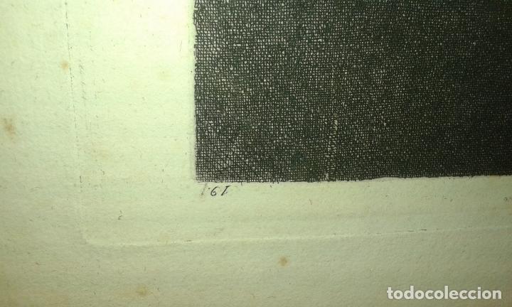 Arte: Grabado aguafuerte. Eugenio de Lemus y Olmo, Tristán. El grabador al aguafuerte. Año 1876. - Foto 10 - 64710183