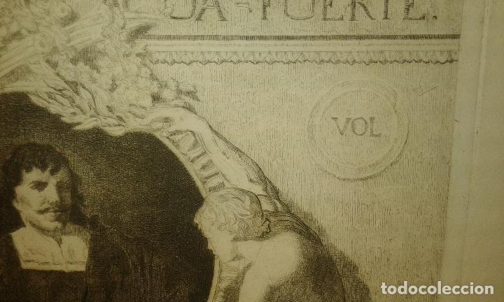 Arte: Grabado aguafuerte. El grabador al aguafuerte. Volumen II. Madrid 1875. - Foto 5 - 64711263