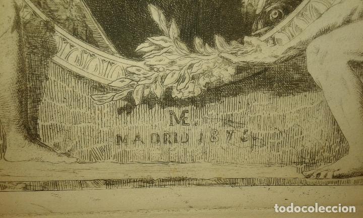 Arte: Grabado aguafuerte. El grabador al aguafuerte. Volumen II. Madrid 1875. - Foto 6 - 64711263