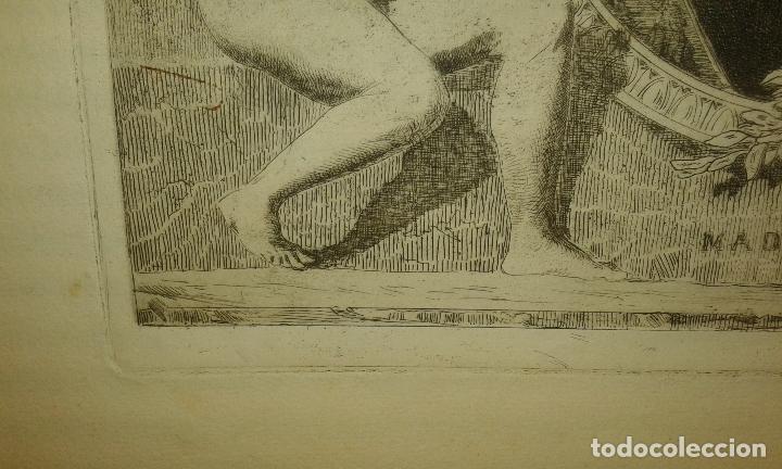 Arte: Grabado aguafuerte. El grabador al aguafuerte. Volumen II. Madrid 1875. - Foto 7 - 64711263