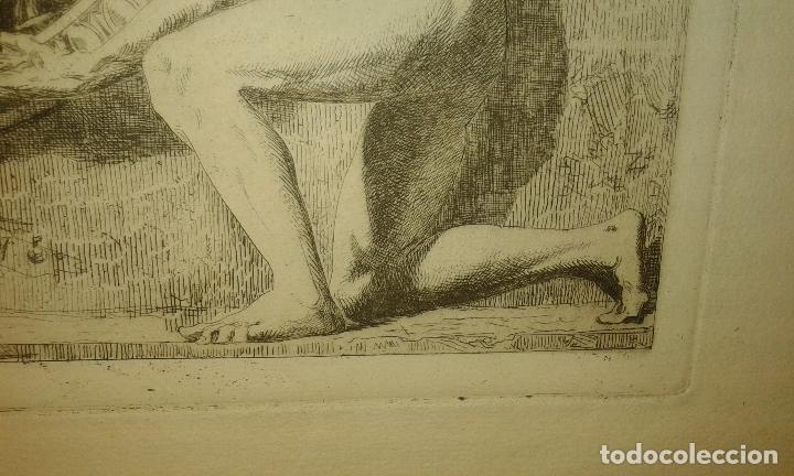 Arte: Grabado aguafuerte. El grabador al aguafuerte. Volumen II. Madrid 1875. - Foto 8 - 64711263