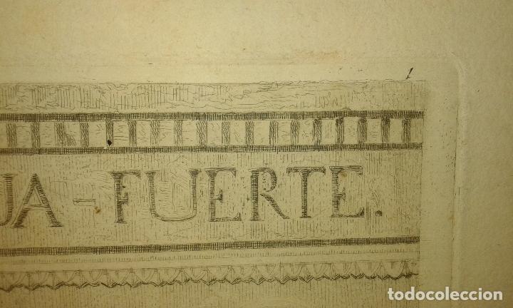 Arte: Grabado aguafuerte. El grabador al aguafuerte. Volumen II. Madrid 1875. - Foto 9 - 64711263