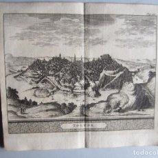 Arte: 1707-VISTA GENERAL DE TOLEDO. MADRID.DELICES ESPAÑA.GRABADO ORIGINAL JUAN ALVAREZ COLMENAR. Lote 66160154