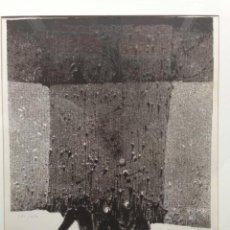 Arte: GRABADO MANUEL RIVERA ORIGINAL GRUPO EL PASO. Lote 67006510