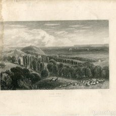 Arte: INGLATERRA. DEVONSHIRE. THE TOR, GRABADO POR J.C.ALLEN, 1860. Lote 67334701