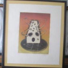 Arte: GERARDO APARICIO YAGUE, GRABADO FIRMADO EN EL 99, NUMERADO 39/75. Lote 67344033