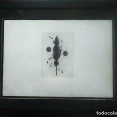 Arte: JAUME PLENSA GRABADO FIRMADO Y NUMERADO A LÁPIZ EJEMPLAR 7 / 20 ENMARCADO CRISTAL Y PASSEPARTOUT . Lote 67440269