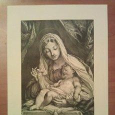 Arte: GRABADO CUYO ORIGINAL DATA DEL SIGLO XVIII. Lote 67636301