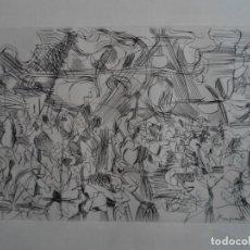 Arte: ROUGEMONT () GRABADO DE 33X21 EN PAPEL DE 32X44,5, FIRMADO ROUGEMONT XI 1961 EN LA PLANCHA. Lote 68657081