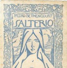 Arte: HOMENAJE A PEDRO BETHENCOURT GRABADO LITOGRÁFICO DE JOSÉ AGUIAR. Lote 120899087