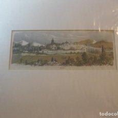 Arte: GRABADO FRANCÉS DE LA CIUDAD DE VITORIA. CIRCA AÑOS SETENTA DEL SIGLO XIX.. Lote 68926325