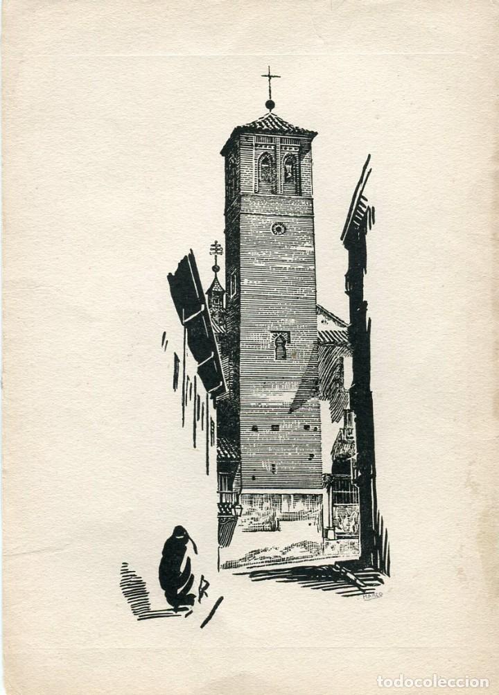 torre grabado de pedro marco (1949- ) villena - Comprar Grabados ...