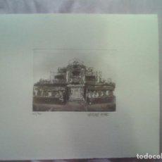 Arte: 10 GRABADOS EN CARPETA 62/70 DEU VISIONS DE L'HOSPITALET 950 GRS 34X30 ÚNICO E IRREPETIBLE. Lote 69355013