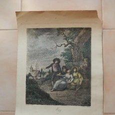 Arte: MAY W. HAMILTON R.A. F.BARTOLOZZI. Lote 69755493
