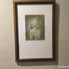 Arte: ARCO DE CUCHILLEROS. PLAZA MAYOR. MADRID. MAAD. CUEVAS DE LUIS CANDELAS. Lote 69819609