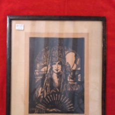 Arte: GRABADO DEL AÑO 1933 DE G. IBÁÑEZ. Lote 70344611