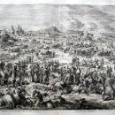 Arte: 1729 - BIBLIA - 5ª PLAGA DE EGIPTO - PESTE GANADO - LUYKEN - ENGRAVING - GRAVURE. Lote 70486813