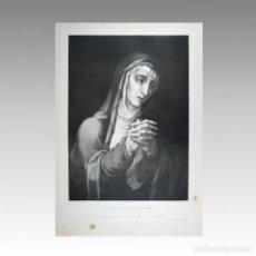 Arte: NUESTRA SEÑORA DE LOS DOLORES EL CUADRO ORIGINAL EXISTE EN EL REAL MUSEO DE MADRID. - MORALES, LUIS. Lote 54240013