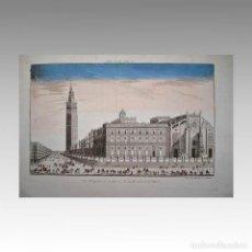 Arte: SEVILLA (CERCA 1780) - VISTA OPTICA. Lote 54240194