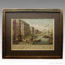Arte: MENORCA (CERCA 1780) - VISTA OPTICA. Lote 54240199