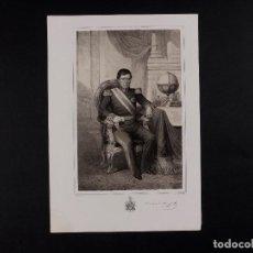 Arte: MILITAR D. ANASTASIO DE ARANGO, MARISCAL DE CAMPO 1856. Lote 70650065