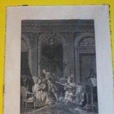 Arte: LE BILLET DOUX - AGUA FUERTE - 1778 CA - NICOLAS DE LAUNAY. Lote 71157069