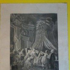 Arte: LE COUCHE DE LA MARIEE - AGUAFUERTE - GRABADO -. Lote 71158481