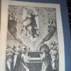 Arte: ANTIGUO GRABADO S.XVIII - 26X19 CM. . Lote 71492031