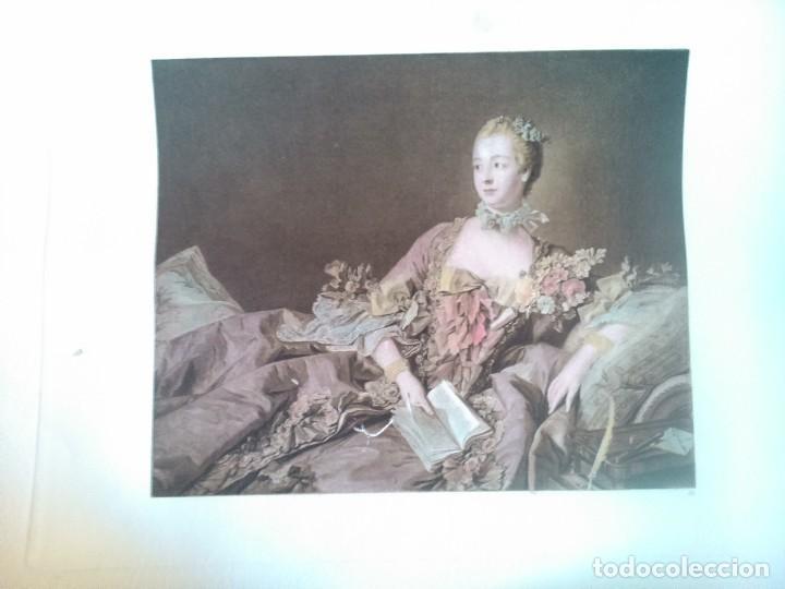Arte: Lote cinco grabados de mujeres - Foto 4 - 71849871