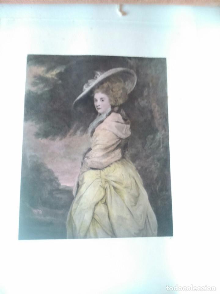 Arte: Lote cinco grabados de mujeres - Foto 6 - 71849871