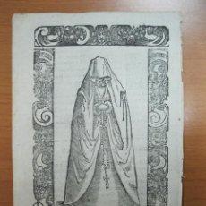Arte: XILOGRAFÍA DE UNA DONCELLA DE ESPAÑA, 1598. VECELLIO/SESSA. Lote 72073359